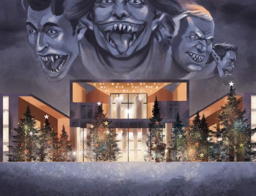 Scary Christmas Eve